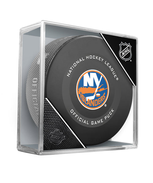 NEW YORK ISLANDERS 2019 OFFICIAL GAME PUCK