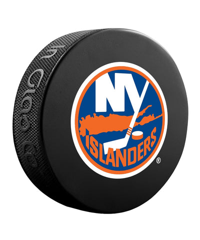 NEW YORK ISLANDERS NHL HOCKEY PUCK