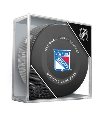 NEW YORK RANGERS 2019 OFFICIAL GAME PUCK