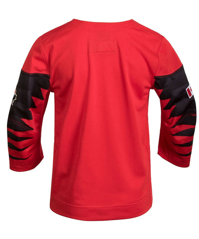 Nike Team Canada 2018 Olympics Kid's Red Jersey