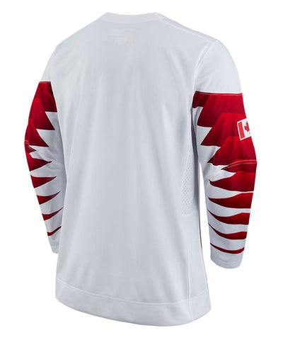 Nike Team Canada 2018 Olympics Mens White Jersey
