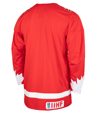 NIKE TEAM CANADA MEN'S ALTERNATE JERSEY - RED