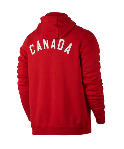 NIKE TEAM CANADA MEN'S CLUB PO NOISE HOODIE