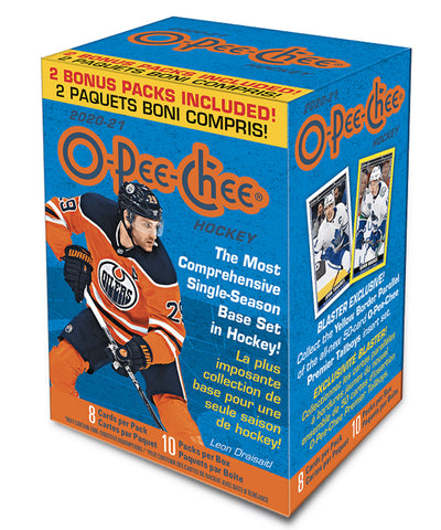 O-PEE-CHEE 2021 HOCKEY CARD BLASTER BOX
