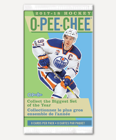 O-PEE-CHEE 2017-2018 NHL HOCKEY CARDS