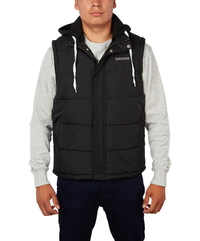 GONGSHOW MEN'S CHEST PROTECTOR HOODIE - BLACK