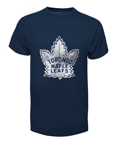 OLD TIME HOCKEY JOHNNY BOWER TORONTO MAPLE LEAFS ALUMNI T SHIRT