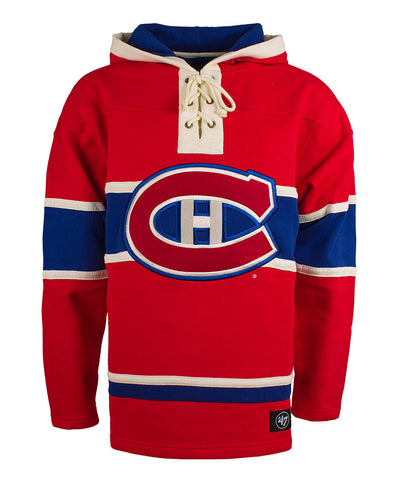01616aca0 OLD TIME HOCKEY MONTREAL CANADIENS SR LACER HOCKEY HOODIE