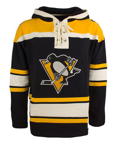 OLD TIME HOCKEY PITTSBURGH PENGUINS SR LACER HOCKEY HOODIE 131511a031c