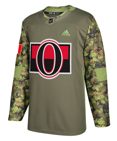 OTTAWA SENATORS ADIDAS AUTHENTIC CAMO JERSEY