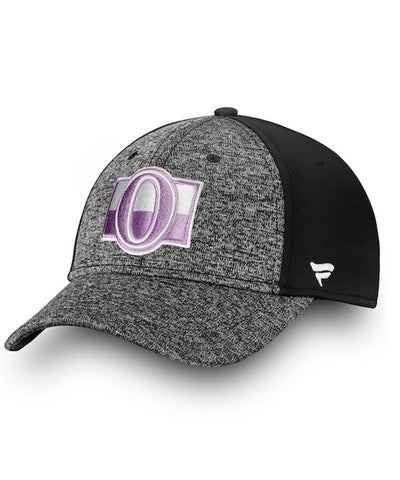 OTTAWA SENATORS FANATICS MEN'S HOCKEY FIGHTS CANCER 2018 HAT