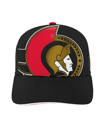 OTTAWA SENATORS KIDS SPECIAL EDITION BIG FACE PRE-CURVED SNAPBACK HAT