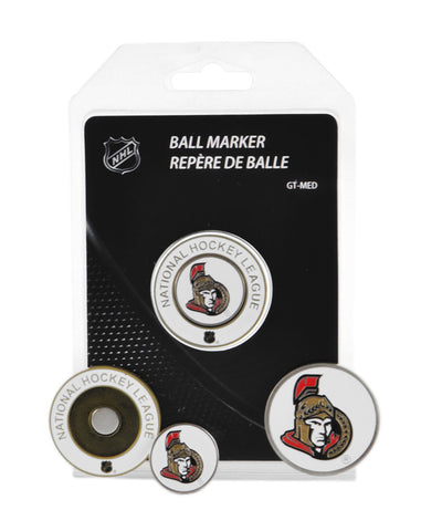 OTTAWA SENATORS MEDALLION GOLF BALL MARKER