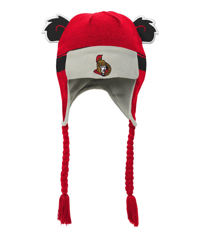 OTTAWA SENATORS TODDLER STRIPE EARS TROOPER HAT