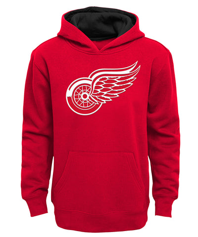 DETROIT RED WINGS OUTER KID'S PRIME BASIC HOODIE