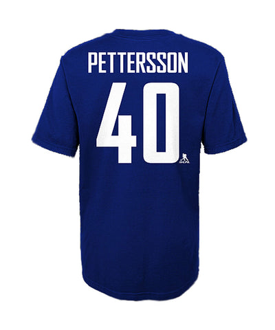 ELIAS PETTERSSON VANCOUVER CANUCKS JUNIOR PLAYER T SHIRT