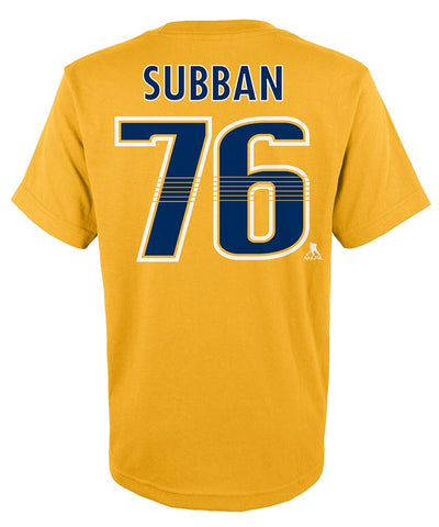 P.K SUBBAN NASHVILLE PREDATORS JUNIOR PLAYER T SHIRT