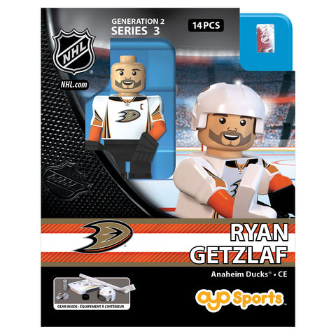 OYO SPORTS ANAHEIM DUCKS GETZLAF GEN 2 MINIFIGURE