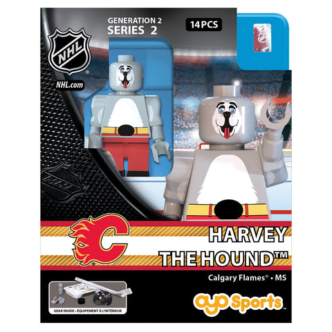 OYO SPORTS CALGARY FLAMES MASCOT HARVEY GEN 2 MINIFIGURE