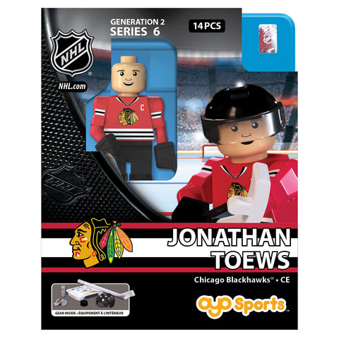 OYO SPORTS CHICAGO BLACKHAWKS HOME TOEWS GEN 2 MINIFIGURE
