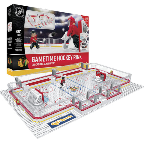 OYO SPORTS CHICAGO BLACKHAWKS GAMETIME RINK