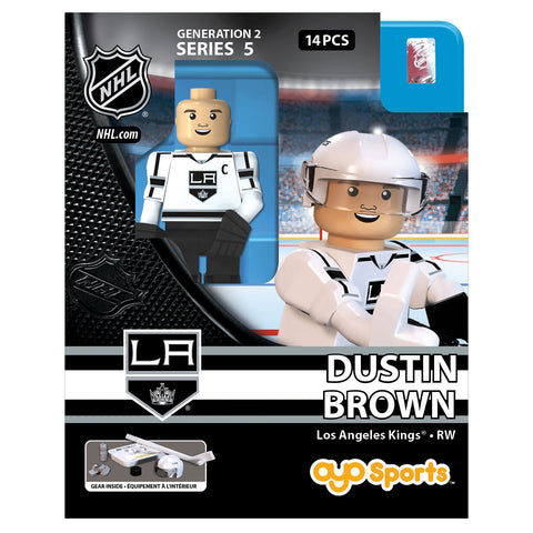 OYO SPORTS LOS ANGELES KINGS BROWN GEN 2 MINIFIGURE