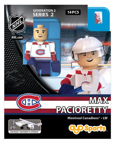 OYO SPORTS MONTREAL CANADIANS PACIORETTY GEN 2 MINIFIGURE