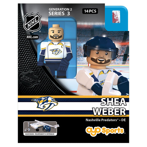 OYO SPORTS NASHVILLE PREDATORS WEBER GEN 2 MINIFIGURE