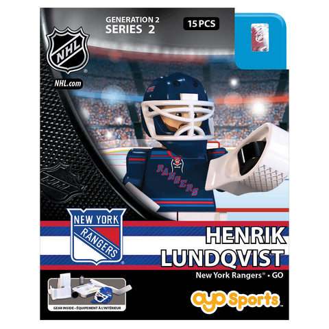 OYO SPORTS NEW YORK RANGERS LUNDQVIST GEN 2 MINIFIGURE