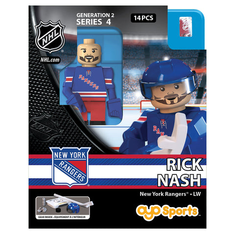 OYO SPORTS NEW YORK RANGERS HOME NASH GEN 2 MINIFIGURE