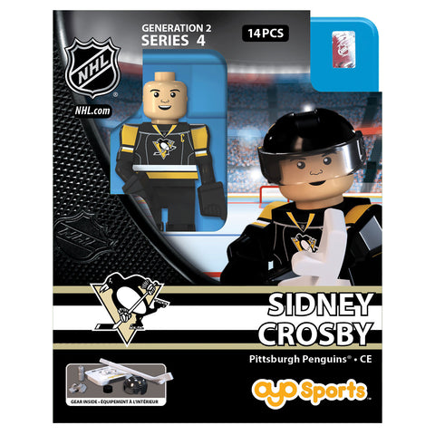 OYO SPORTS PITTSBURGH PENGUINS CROSBY GEN 2 MINIFIGURE