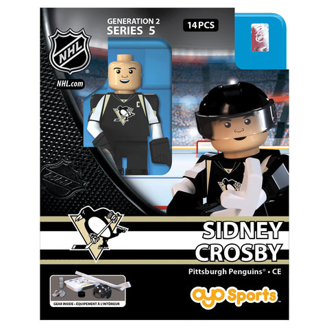 OYO SPORTS PITTSBURGH PENGUINS HOME CROSBY GEN 2 MINIFIGURE