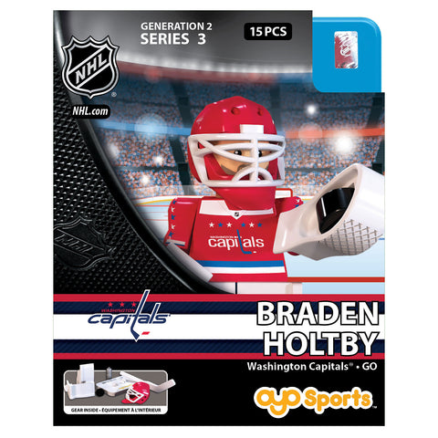 OYO SPORTS WASHINGTON CAPITALS HOLTBY GEN 2 MINIFIGURE