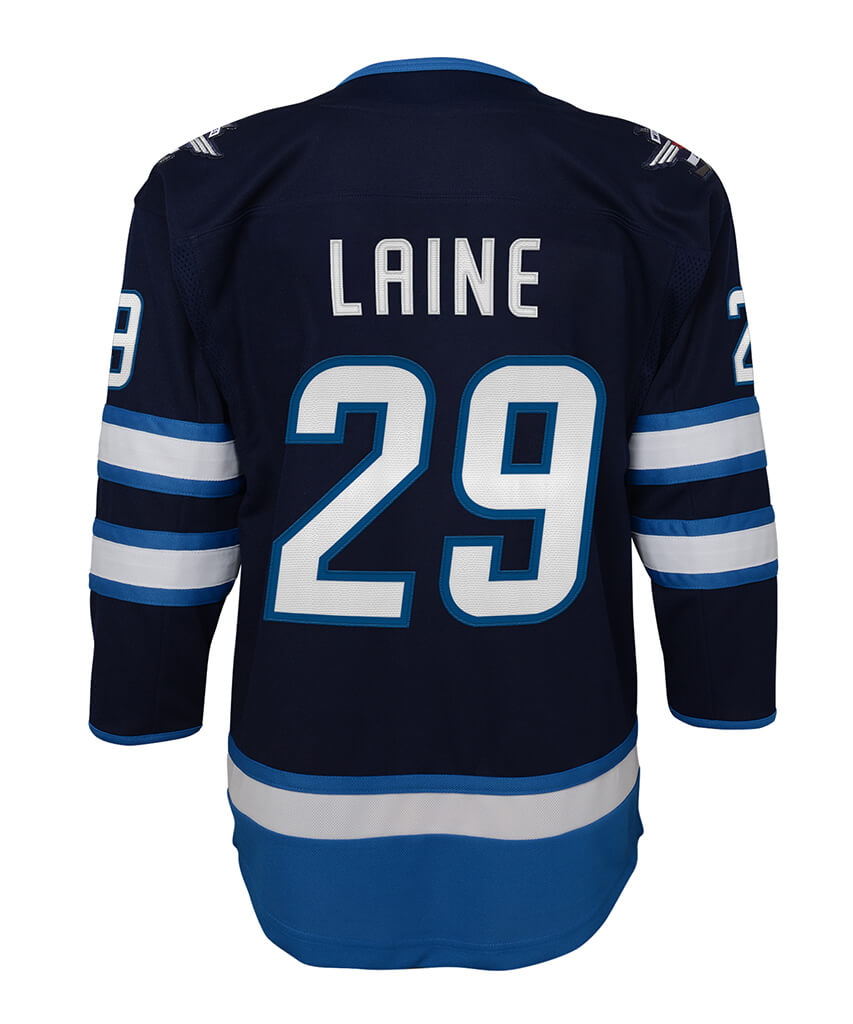 half off 8e075 fb8df PATRIK LAINE WINNIPEG JETS JUNIOR PREMIER JERSEY