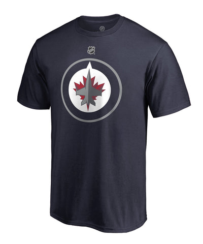 PATRIK LAINE WINNIPEG JETS FANATICS MEN'S NAME AND NUMBER T SHIRT