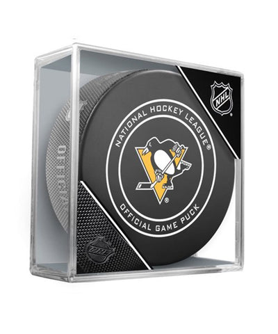 PITTSBURGH PENGUINS OFFICIAL 2018 NHL GAME PUCK