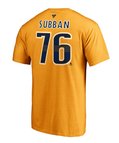 P.K SUBBAN NASHVILLE PREDATORS FANATICS MEN'S NAME AND NUMBER T SHIRT