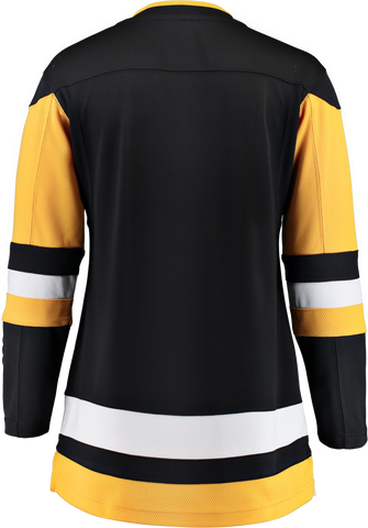 FANATICS PITTSBURGH PENGUINS WOMENS BREAKAWAY JERSEY