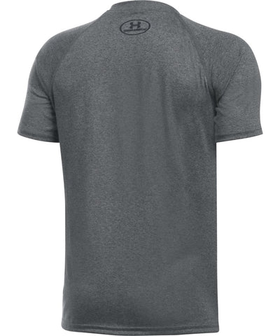 UNDER ARMOUR JR TECH BIG LOGO SS T CARBON