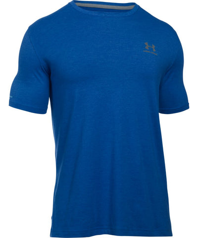 UNDER ARMOUR SR CC LEFT CHEST LOCKUP ROYAL