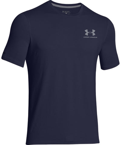 UNDER ARMOUR SR CC LEFT CHEST LOCKUP NAVY