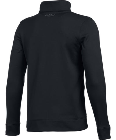 UNDER ARMOUR JR PENNANT WARM-UP JACKET BLACK