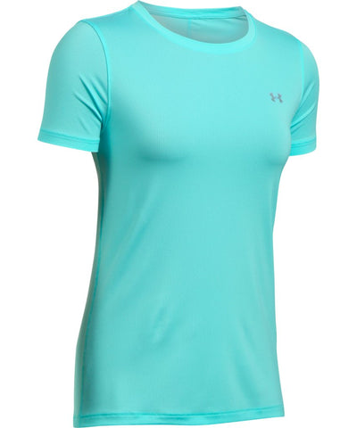 UNDER ARMOUR SR HG ARMOUR SS T-SHIRT BLUE INFINITY