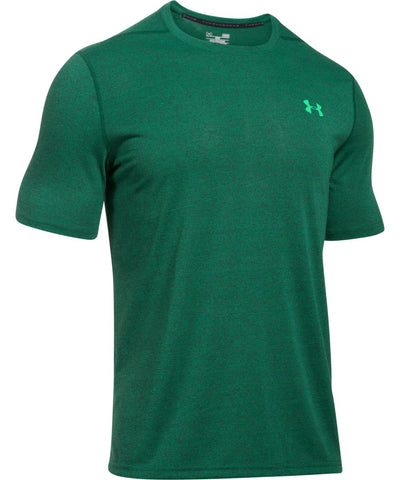 UNDER ARMOUR THREADBORNE 3C TWIST MEN'S T-SHIRT GREEN