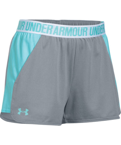 UNDER ARMOUR SR PLAY UP SHORT 2.0 GREY