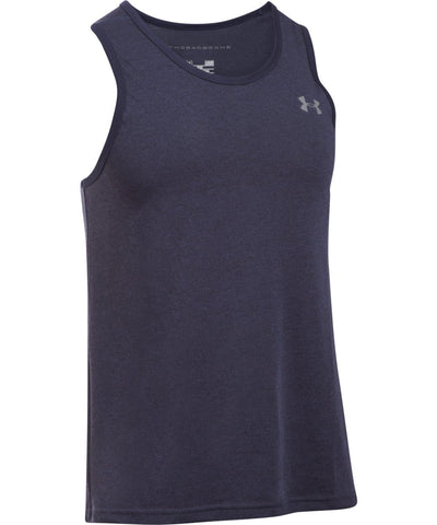 UNDER ARMOUR THREADBORNE NOVELTY MEN'S TANK TOP NAVY