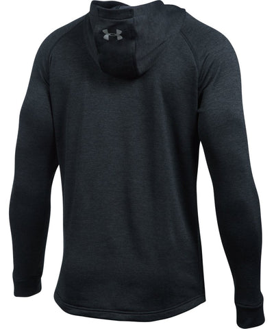 UNDER ARMOUR SR TECH TERRY FITTED PO HOODIE BLACK