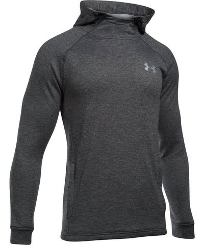 UNDER ARMOUR SR TECH TERRY FITTED PO HOODIE GREY