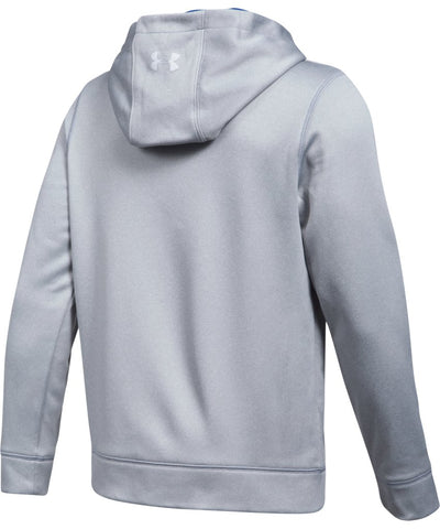UNDER ARMOUR JR HOCKEY WORDMARK HOODY 2.0 GREY