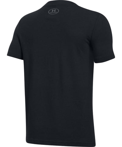 UNDER ARMOUR JR HOCKEY WORDMARK SS T 2.0 BLACK